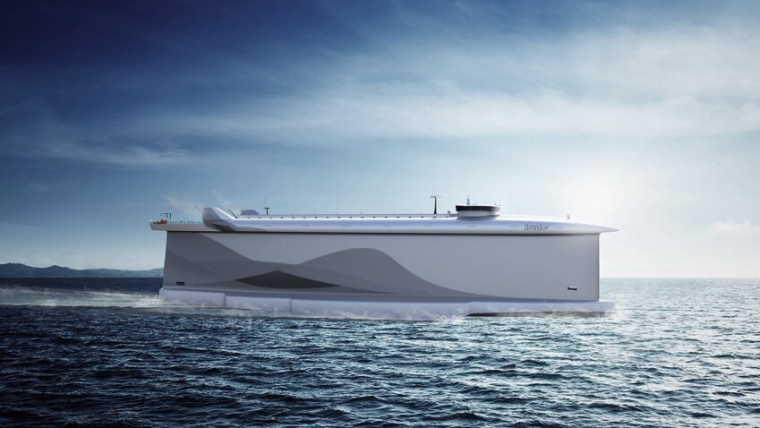 World's greenest deep-sea car carrier