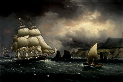 December: From sail to steam as a driving force of ships